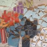 Récupérer des carreaux de carrelage pour une mozaïque