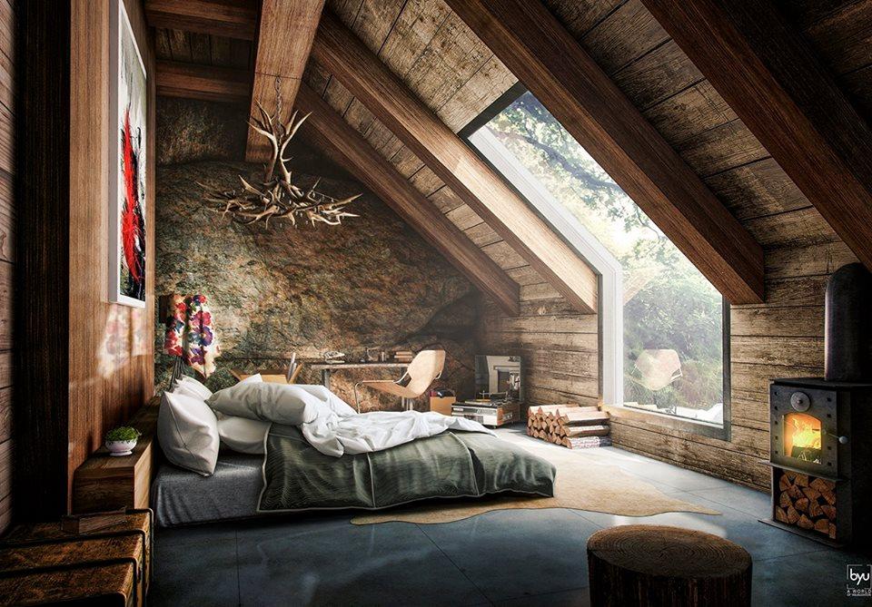 Le confort naturel d'une chambre Feng shui
